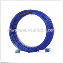 9/125 Singlemode Duplex Armored cabo LC-LC fibra cabo de remendo para a rede FFTX