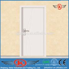 JK-P9063 Pvc de salle de bains / portes intérieures en bois