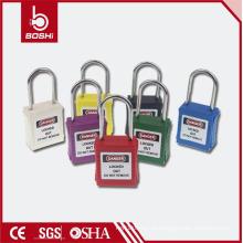 Cadeado de segurança do grilhador fino de 4 mm de diâmetro (BD-G71) para bloqueio de segurança industrial Usando