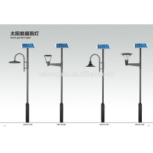 Aluminum IP65 solar led garden lamp for project/solar led parking lamp for 30W 40W 50W
