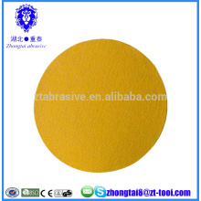 hook & loop gold a/o round sanding discs