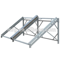 Custom sheet metal solar racking product