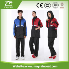 Moda Bella Outdoor PU Rainsuit con pantaloni