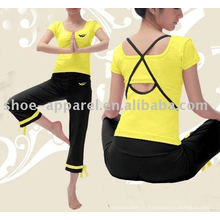 Vêtements de fitness briziliens personnalisés pour les femmes, vêtements de yoga, fitness yoga