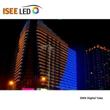 Luz lineal LED RGB DMX para fachadas de edificios