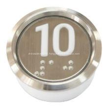 Ascenseur bouton poussoir étanche anticollision antipoussière