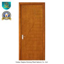 Puerta de madera compuesta sólida del estilo moderno para el sitio (ds-083)