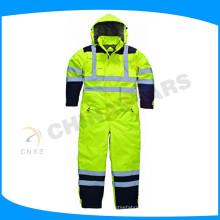 OEM 100% poliéster oxford reflexivo segurança roupas de segurança coverall