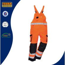 En471 Ropa de trabajo de seguridad de algodón de alta visibilidad