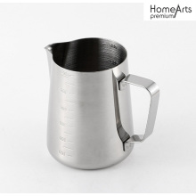 STAINLESS STEEL COFFEE PITCHER MILK JUG