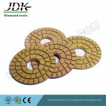 Almofadas de polimento de piso de diamante 80mm, 100mm, 125mm. 150 mm. 180 mm, 200 mm