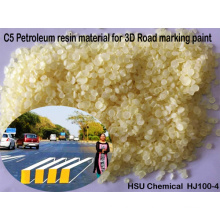 Hot Melt C5 Petroleum Resin for 3D Road Marking Paint