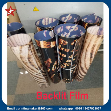 Custom Fireproof Backlit Film Poster Printing