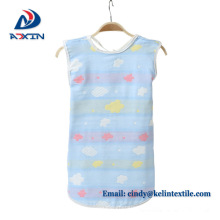 Eco-Friendly 6 layers gauze muslin cotton sleeping bag