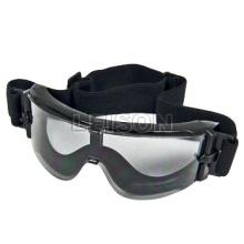 Tactical goggle Ballistic Goggle TPU material anti-UV and anti-fog goggle