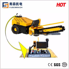 21HP Hydraulic Trencher with Working Depth 1100mm