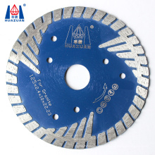 "4.5"" 5"" Premium Quality turbo type diamond saw blade disc for granite cutting"