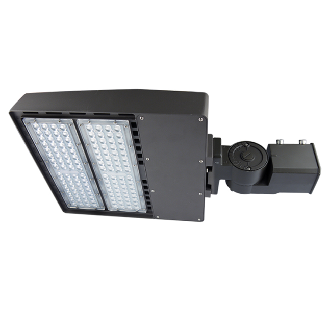 100W LED Shoebox Retrofit Kit Pole Light