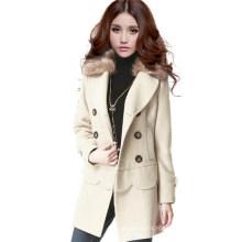 Nouveau manteau de mode femme hiver design (MU7895-1)