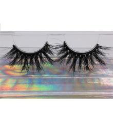 SL034H Hitomi High Quality 3d Mink Eyelashes soft natural mink eyelashes Fluffy 25mm Magnetic Mink Eyelashes