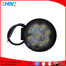 27W LED Flood Round Work Light Road 12/24V Truck 4x4 Boat Jeep SUV