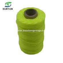 Yellow High Tenacity PE/PP/Polyester/Nylon Plastic Twisted/Braided Multi-Filament/Baler/Thread/Packing Line/Fishing Net Twine by Spool/Reel/Bobbin/Hank