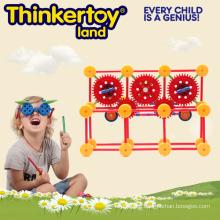 Educational Toy Plastic Magnetic Building Blocks for Children