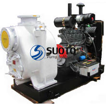 Diesel Engine Pump with Trailer
