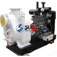 Насос дизельного двигателя с прицепом