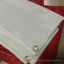 Tissu en fibre de verre enduit