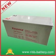 Hohe Qualität 200ah 12 V Deey Zyklus Gel Inverter Batterie Nps200-12