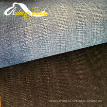 Tejido de sarga de algodón tejido de lana para camisas de hombre