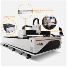 Large Area 3015 Metal Sheet Fiber Laser Cutter Machine Aluminum Steel 1mm Cut Cnc Laser Cutting Machine