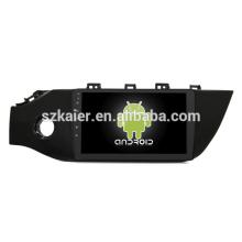 ¡Ocho nucleos! Android 8.1 DVD del coche para RIO 2017 con pantalla capacitiva de 9 pulgadas / GPS / Mirror Link / DVR / TPMS / OBD2 / WIFI / 4G
