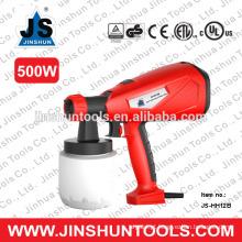 JS elétrica hvlp handheld pulverizador pintura pintor casa pintor arma nova, JS-HH12B