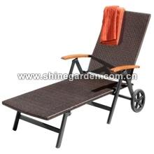 Gartenmöbel Wicker Lounge-Sessel