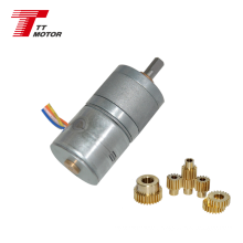 20mm 12v stepper motor with gearbox for precise control use gear reducer stepper motor