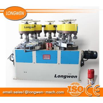 Fornece todos os tipos de lata de lata de selagem flangeando série de máquina de beading