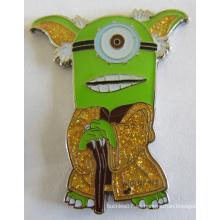 Broche de metal para niños Minions como regalo promocional (badge-191)