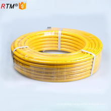 A 17 4 13 flexible metal hose series flexible metal gas hose with brass fitting