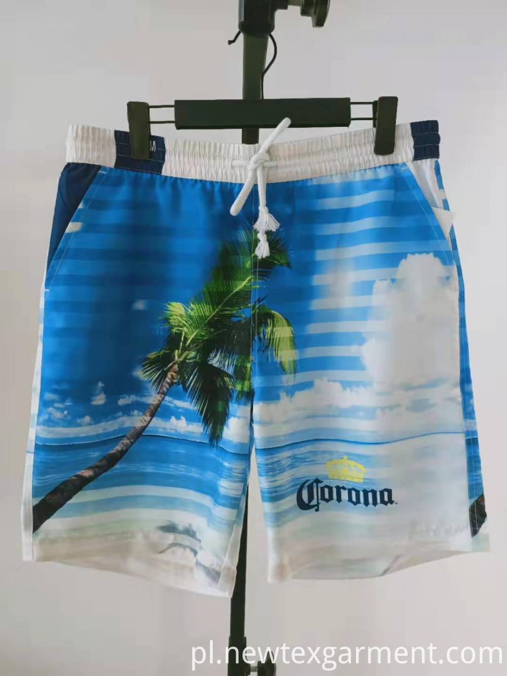 printed mens swimming shorts