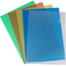 Pasta de arquivo de alavanca colorida clara