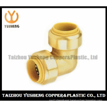 Brass Unleaded Quick-Connect Elbow Fittings (YS3004)