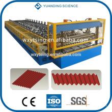 Passé CE et ISO YTSING-YD-6612 ondulé Toit / feuille de petit pain formant la machine