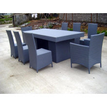American Style Aluminum Dining Table Chairs