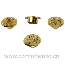Bronze dourado imitado estoma para colchão espiráculo