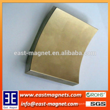 Seltenerd-Qualität Sinter-Neodym / Seltener Erde-Flachsegment-Magnet