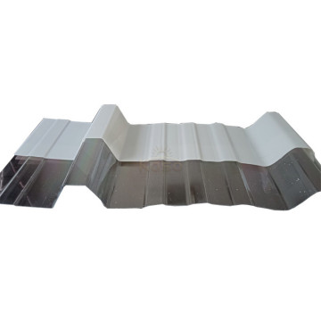 Carpa corrugada gruesa de 3Mm New Wave Roofing Sheet