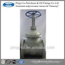 Aço carbono gost diâmetro da válvula de porta 300 fabricados na China