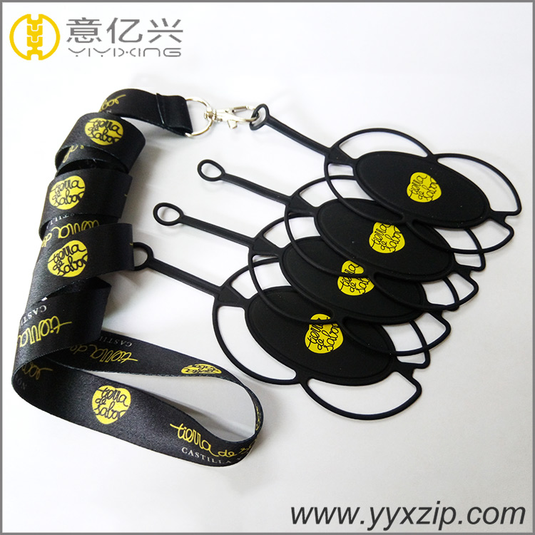 Silicone Mobile Phone Holder Lanyard